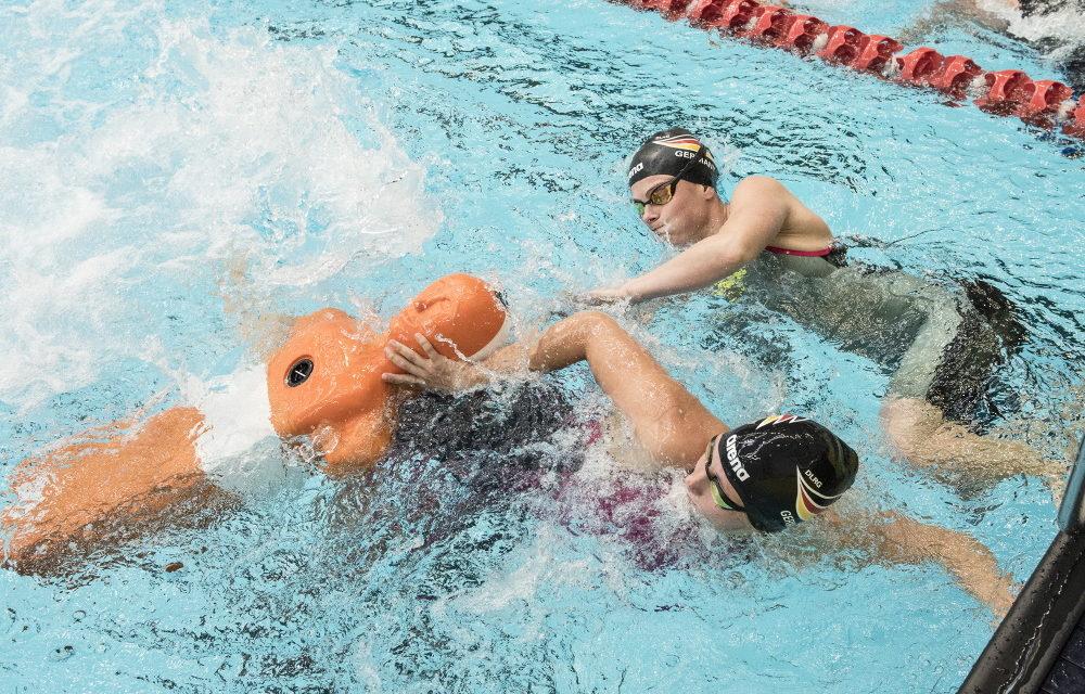 EM im Rettungsschwimmen: DLRG Nationalmannschaft auf dem Weg nach Italien