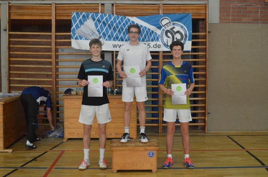 Bei der ersten Rangliste in Schwerin überzeugt