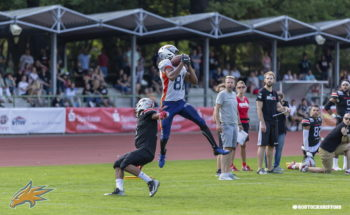 Rostock vs. Hamburg - American Football. Foto: Griffins Media Team