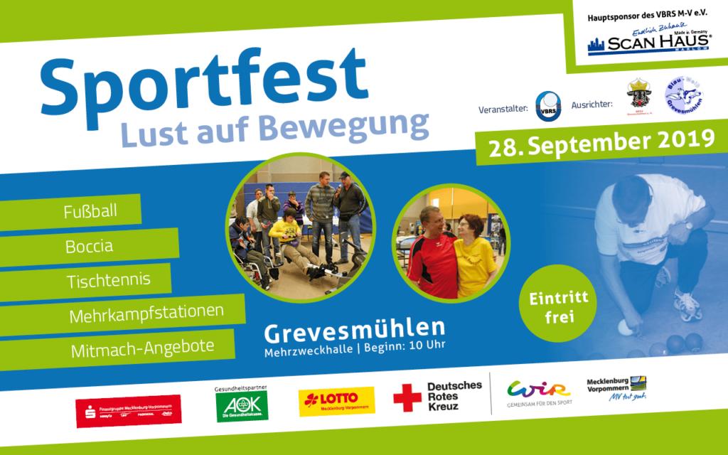 """14. Sportfest """"Lust auf Bewegung"""" am 28. September in Grevesmühlen"""