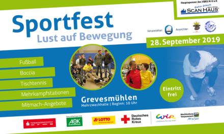 Lust auf Bewegung: Sportfest in Grevesmühlen