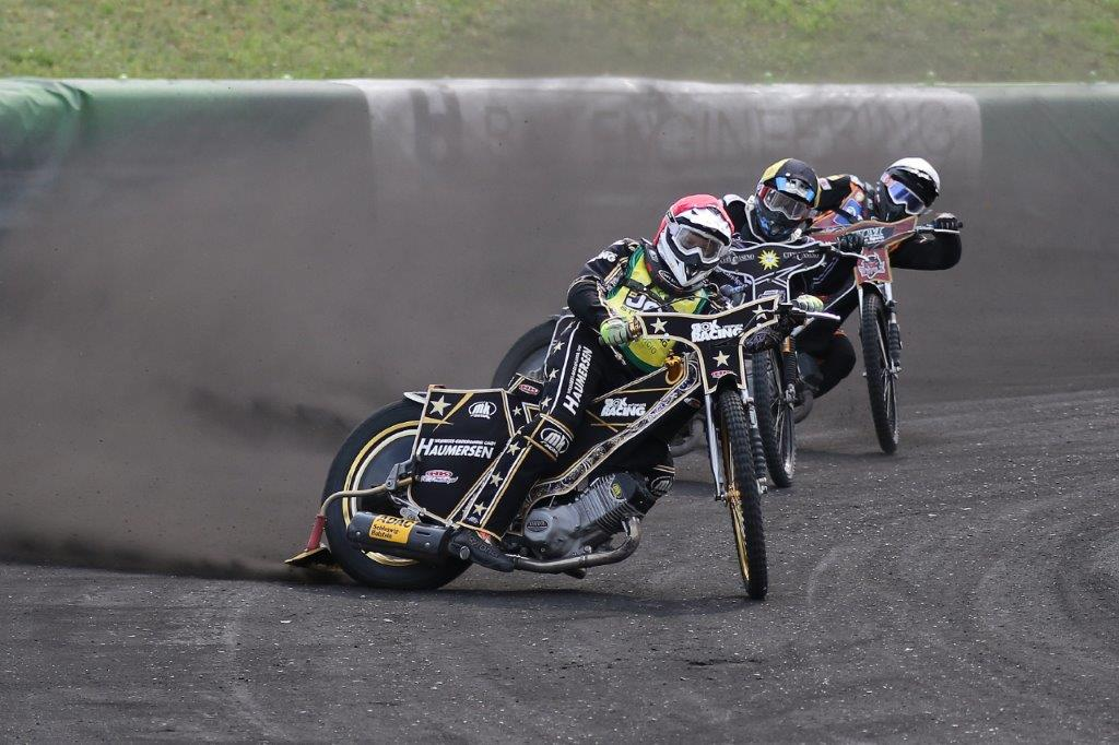 Speedway Team Cup: Norick Blödorn in Führung - Bild von Bernd Quaschning | Motorsport in Mecklenburg-Vorpommern