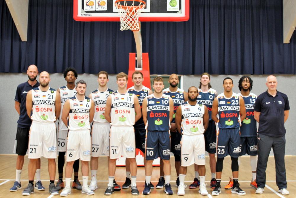 Teamfoto der Rostock Seawolves 2019/2020 Foto: Thomas Käckenmeister