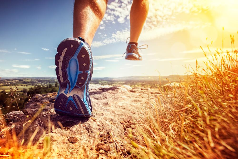 Trailrunning Schuhe im Einsatz   Stockfoto: envato elements