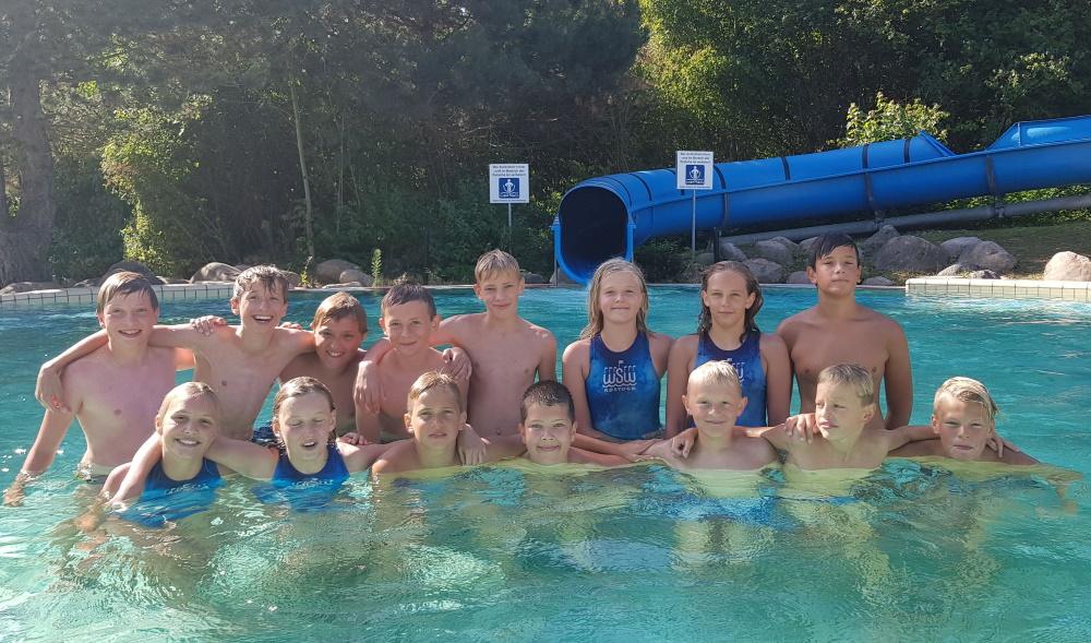 Platz 5 für U14 Wasserballer des WSW Rostock