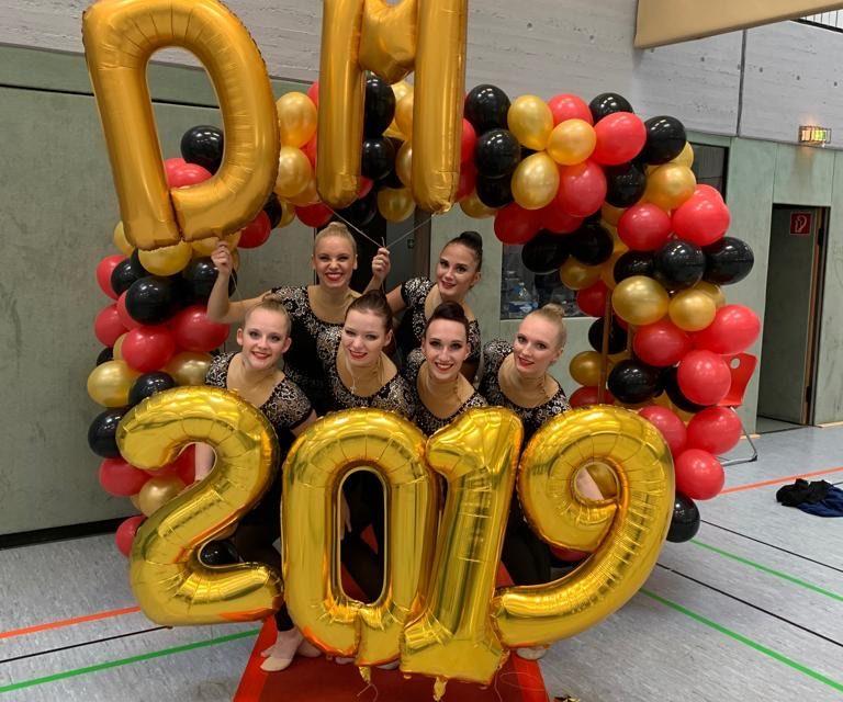 Zwei Titel bei den Deutschen Meisterschaften Gymnastik/Tanz