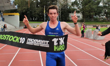 Rostocker Erik Schoob siegt erneut mit Streckenrekord
