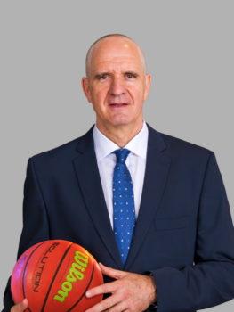 Seawolves Chefcoach Milan Škobalj | EBC Rostock - Basketball