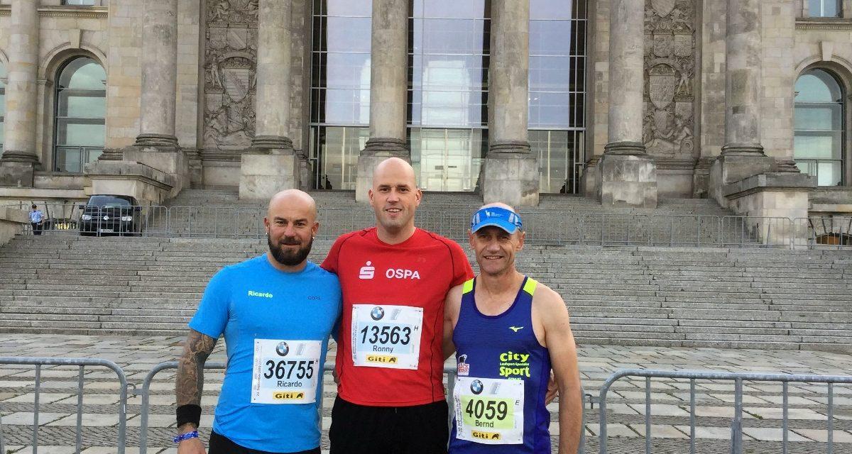 Berliner Marathon mit starken Leistungen