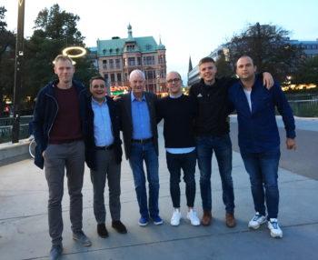 Deutsch-schwedischer Erfahrungsaustausch unter Schiedsrichtern und Offiziellen in Malmö.  Foto: privat