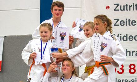 Judogreifen erkämpfen Mannschaftspokal
