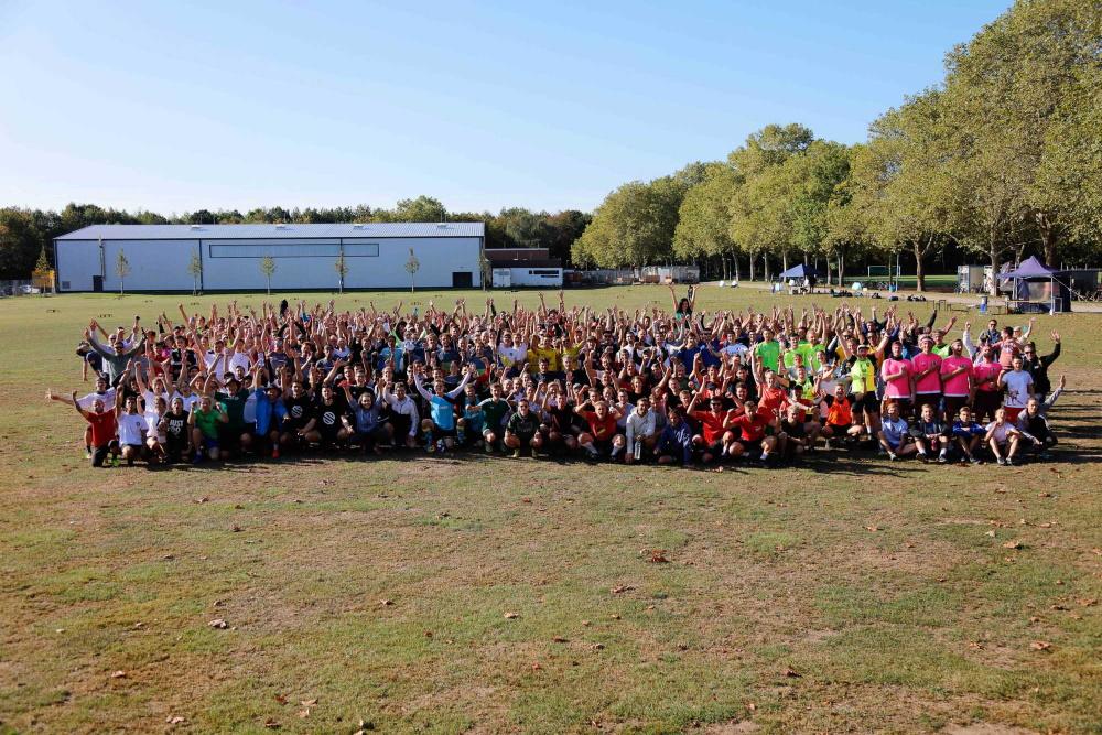 Die Teilnehmer der Roundnet-EM 2019 - Foto: Spikeball-Club Köln