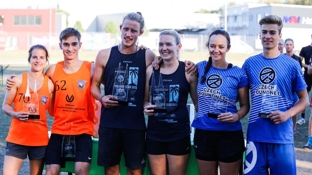Die Gewinner in der Mixed-Wertung bei der Roundnet-EM 2019 - Foto: Spikeball-Club Köln