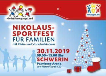 2. Öffentliches Nikolaussportfest in Schwerin. Sportjugend Mecklenburg-Vorpommern