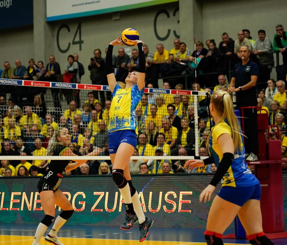 SSC Palmberg Schwerin | Palmberg-Arena | Volleyball-Bundesliga | Foto: Eckhard Mai