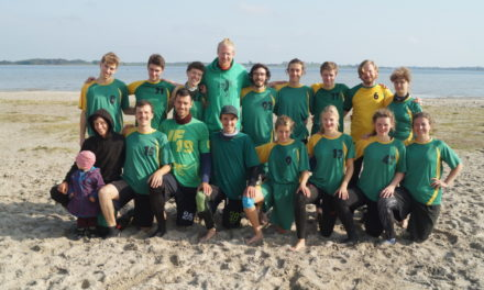 Beach Ultimate Frisbee DM Mixed 2019 in Greifswald