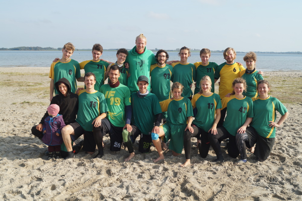 Beach Ultimate Frisbee DM Mixed 2019 in Greifswald - Team Griffins Lehre