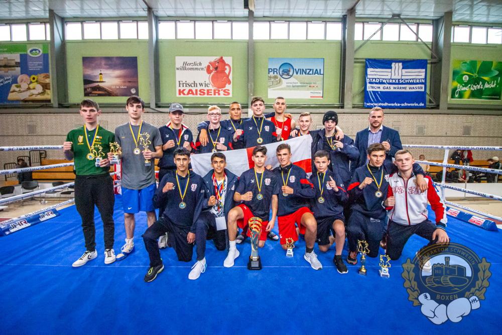 Turniersieger des Internationalen Schweriner Boxturnier 2019. Foto: ©️ Boxclub TRAKTOR Schwerin
