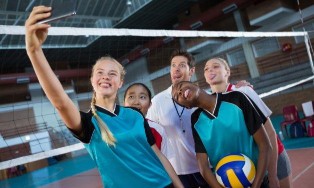 """Volleyballnacht """"Sport statt Gewalt"""""""