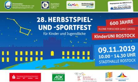 28. Herbstspiel- und -sportfest 2019 in Rostock
