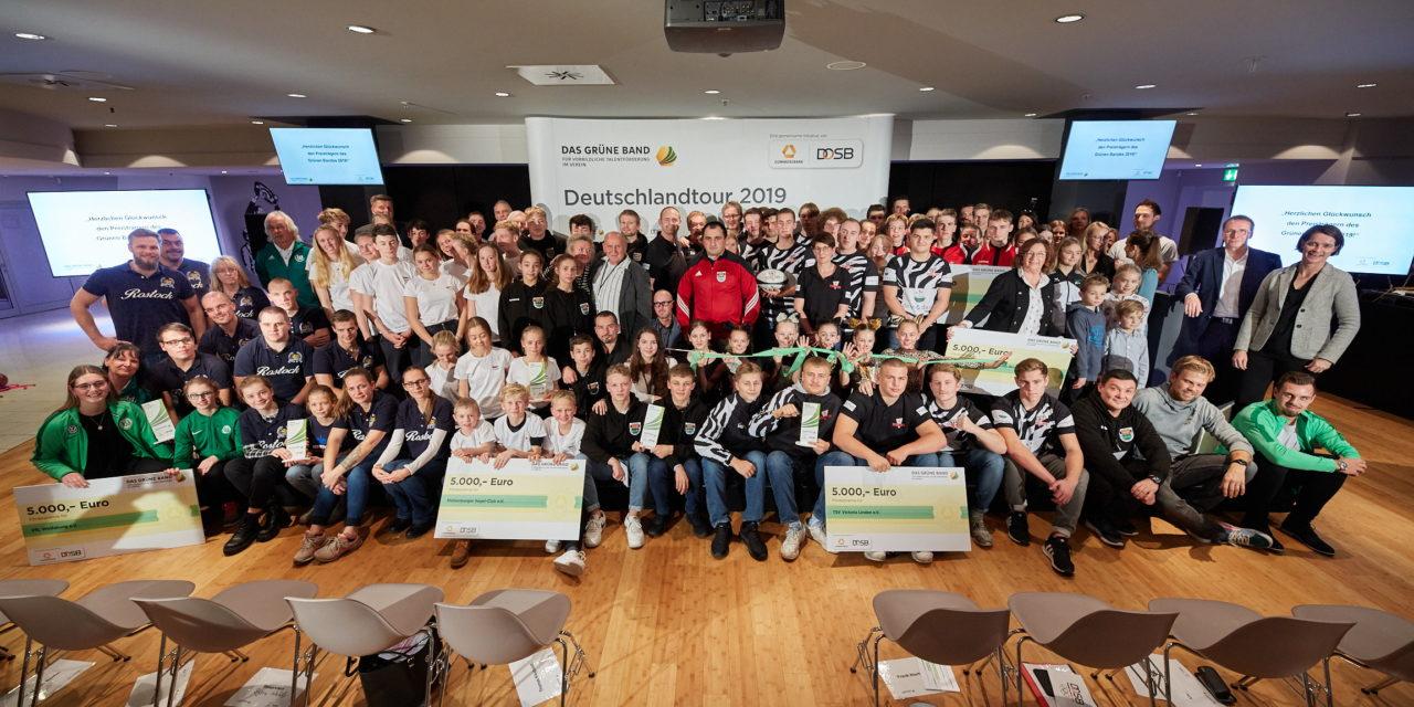 Jetzt bewerben: 5.000 Euro für vorbildliche Talentförderung