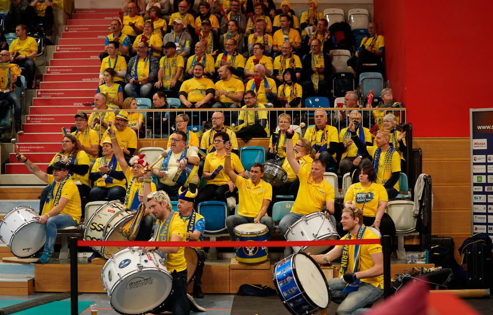 #heimspielinpotsdam – beim Viertelfinale in Potsdam!