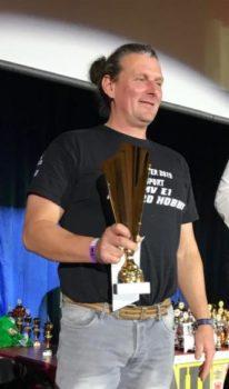 Ronny Thoms (MC Bergring Teterow), Titelgewinner in der Klasse S40+ Foto: Bernd Weldner