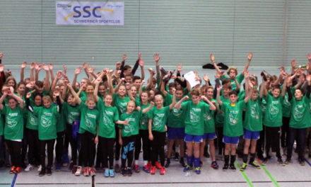 Volleyballnachwuchs trifft sich beim Nordcup