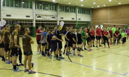 Erfolgreiche 1. Volleyballnacht