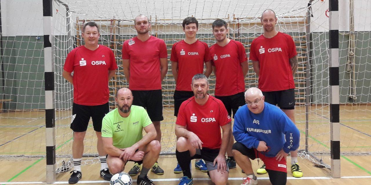 Laufgruppe gewinnt Blitzfußballturnier der Feuerwehr