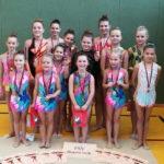 Medaillenregen für die Gymnastinnen vom FSV Bentwisch