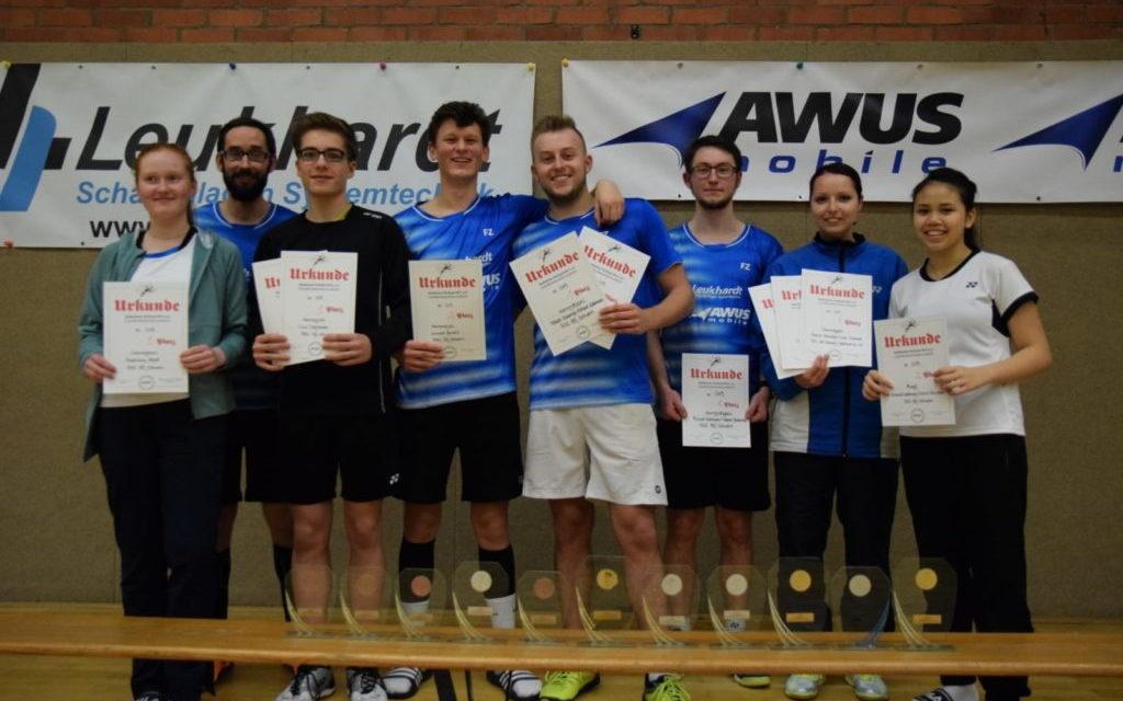 BSC 95 Schwerin setzt sich bei Landesmeisterschaft in Szene