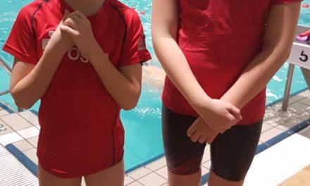 Laager Laufkinder waren Teil des Güstrower Spendenschwimmens
