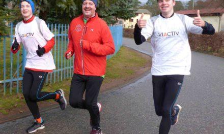 Neujahrsläufer starten in Laage