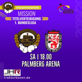 Bundesliga Boxen in der Palmberg-Arena Schwerin