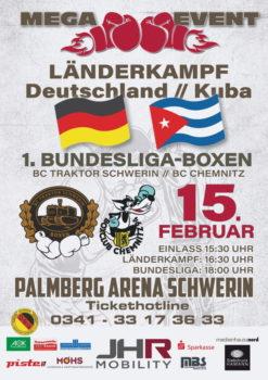 Box-Gala: Länderkampf plus Bundesliga in Schwerin