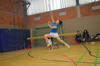 Landesranglistenturnier in Schwerin beim ausrichtenden Badminton Sport Club 95 Schwerin
