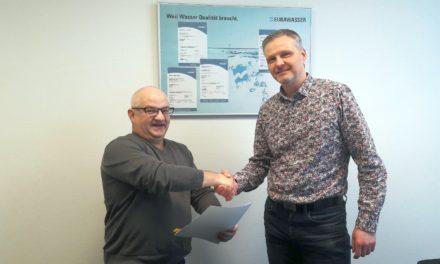EURAWASSER bleibt Premium-Partner des SC Laage