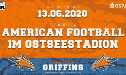 Aller guten Dinge sind drei – Griffins erneut im Ostseestadion