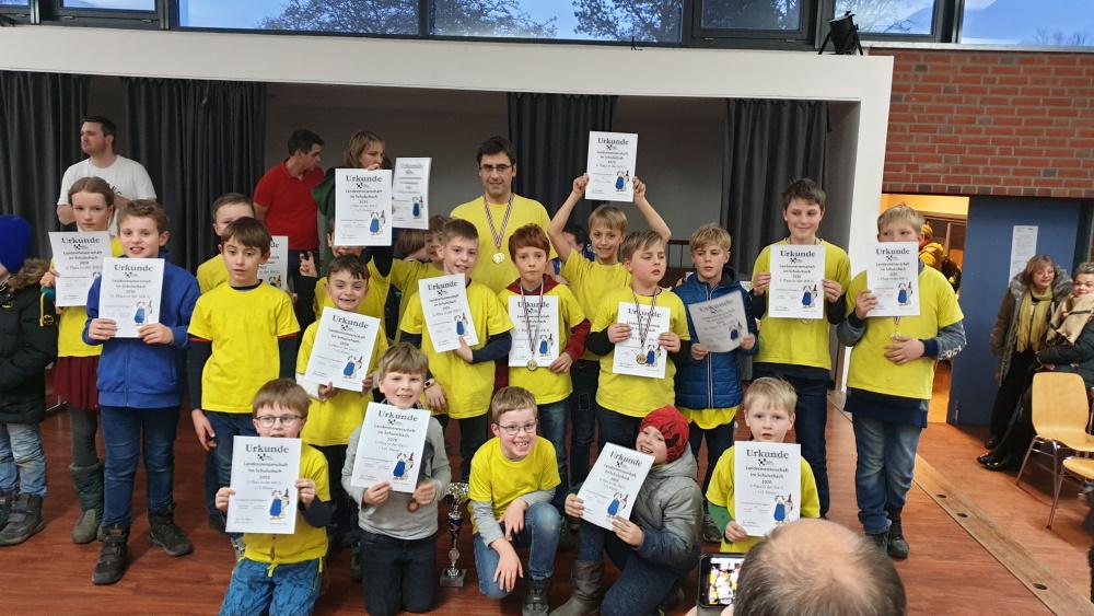Die Grundschuleaus der Mühlengemeinde (Rostock Lichtenhagen) ist Landesmeister
