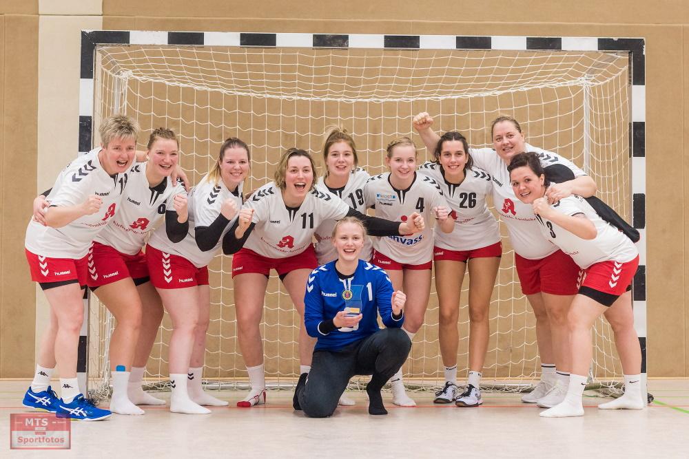 Die Siegerinnen des 2. Speck-weg-Turnier 2019 in Torgelow kommen aus Neubrandenburg | Foto: MTS Sportfotos - Michael Scharf