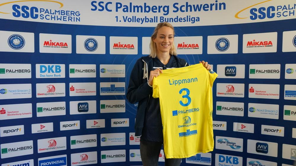 Volleyball Bundesliga: Louisa Lippmann kehrt nach Schwerin zurück. Foto: Pia Krause