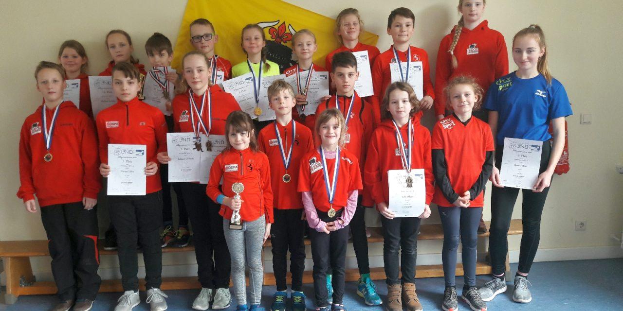 Die Laager Kinder haben es schon wieder getan – Sieg im Nachwuchslaufcup