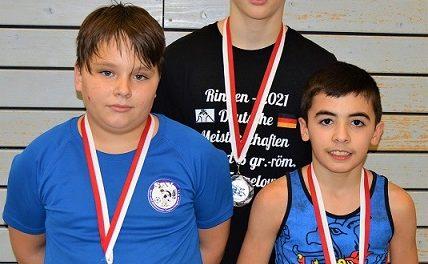 Torgelower Ringer mit 3 Medaillen in Berlin erfolgreich