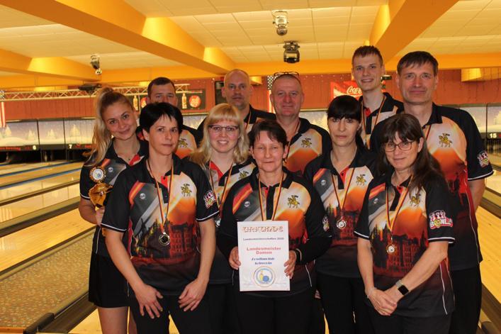 Zwei Meistertitel für den Bowlingclub Schwerin
