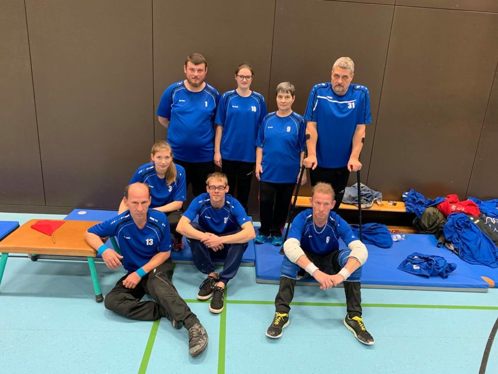 Die Sitzballmannschaft des FSVB Neubrandenburg ist heiß auf den Titel 2020 Foto: Verein