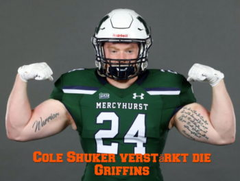 Cole Shuker Verstaerkt die Griffins Defensive | American Football in Rostock