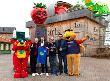 Karls neuer Hauptsponsor bei den Goalballern des RGC Hansa