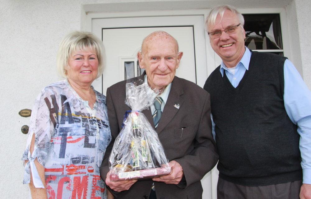 Ehrenrichter Hans-Julius Schroeder wurde 90
