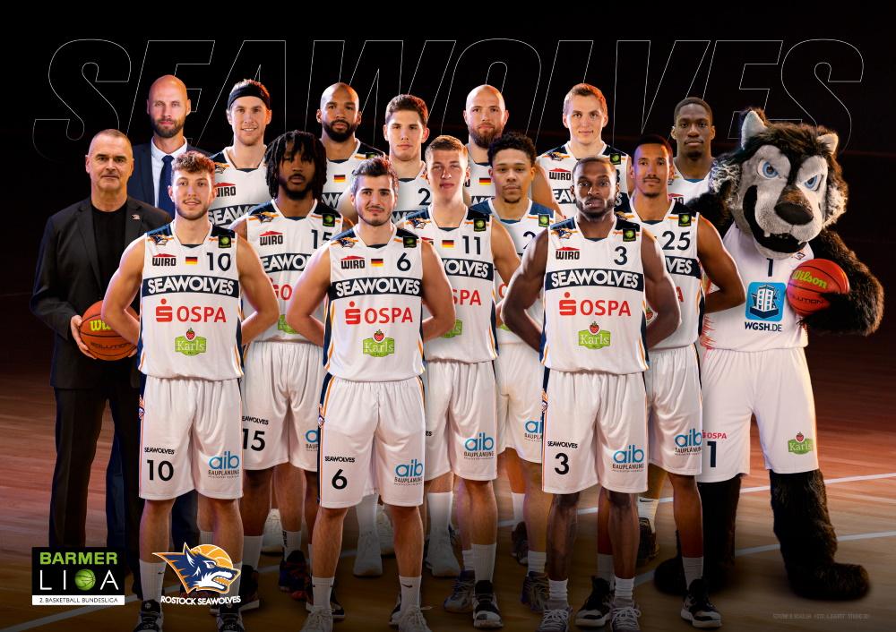Teamfoto der Rostock Seawolves